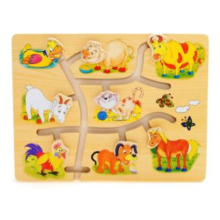 Match The Head Farm Puzzle Product Image