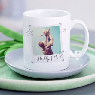 Daddy & Me Personalised Photo Mug Product Image