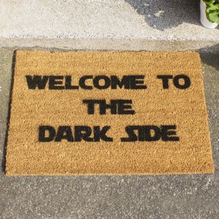 Welcome To The Dark Side Doormat Product Image