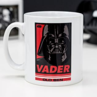 Personalised Star Wars Vader Pop Art Mug Product Image