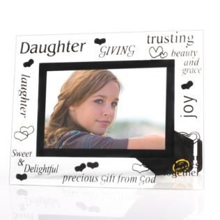 Daughter Glass Photo Frame Product Image