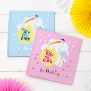 Personalised On the Day You Were Born Book Product Image