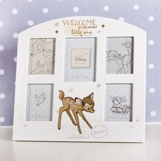 Disney Magical Beginnings Bambi Welcome To The World Collage Frame Product Image