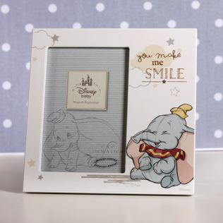 Disney You Make Me Smile Dumbo 4x6 Photo Frame Product Image
