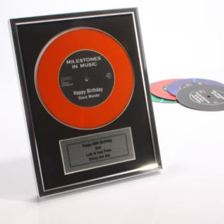 Personalised and Framed Didi Disc Product Image
