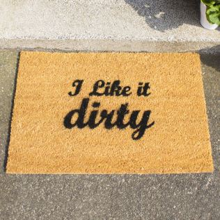 I Like It Dirty Doormat Product Image