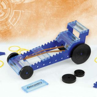 Discovery Build Your Own Rubber Band Dragster Product Image