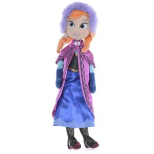 "Disney Frozen 16"" Anna Ragdoll Soft Toy Product Image"