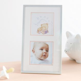 Baby Girl Double Photo Frame Product Image
