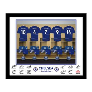 Personalised Chelsea Dressing Room Framed Photo Product Image