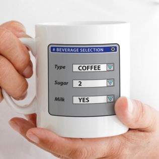 Personalised Beverage Selection Mug Product Image