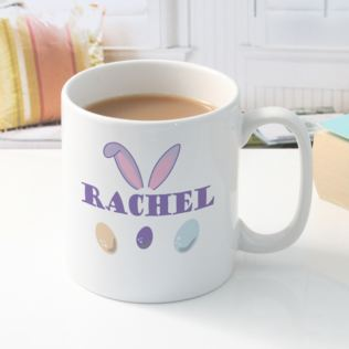 Personalised Easter Bunny Ears Mug Product Image