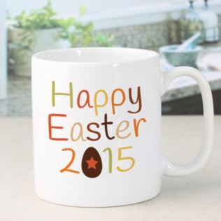 Happy Easter Personalised Mug Product Image
