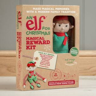 Elf For Christmas With Magical Reward Kit - Girl Product Image