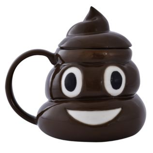 Emoticon Poop Mug Product Image