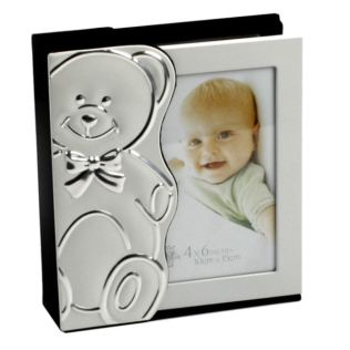 Engraved Slide Out Teddy Bear Photo Album Product Image
