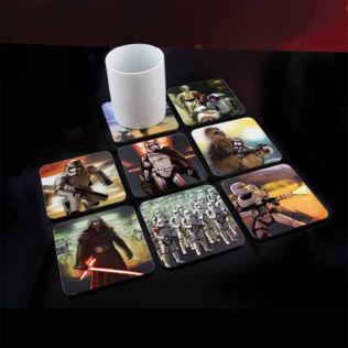 Star Wars Episode VII 3D Coasters Product Image
