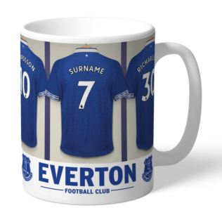 Personalised Everton Dressing Room Mug Product Image