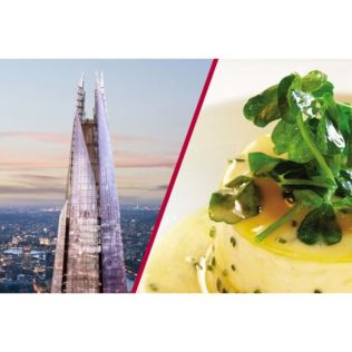The View from The Shard and Michelin Starred Dining for Two at Galvin La Chapelle Product Image