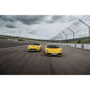 Double Supercar Driving Blast with Free High Speed Passenger Ride - Week Round Product Image