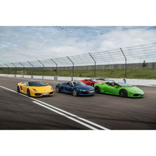 Four Supercar Thrill with Free High Speed Passenger Ride - Week Round Product Image