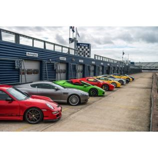 Six Supercar Driving Thrill with Free High Speed Passenger Ride - Weekround Product Image