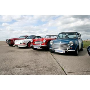 Four Classic Car Driving Thrill  Product Image