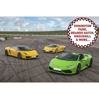 Triple Supercar Driving Thrill at a Top UK Race Track Product Image