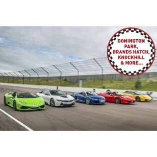 Five Supercar Driving Thrill at a Top UK Race Track Product Image