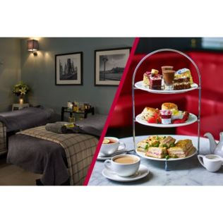 Blissful Spa Day with 25 Minute Treatment and Afternoon Tea at Cafe Rouge for Two Product Image