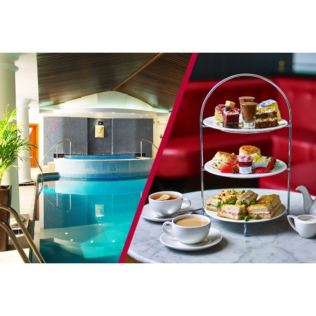 Spa Day with up to 55 Minute Treatment and Afternoon Tea at Cafe Rouge for Two Product Image