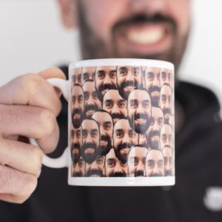 Personalised Face Mug - Photo Upload Product Image
