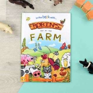 Personalised 'My Day at the Farm' Story Book Product Image
