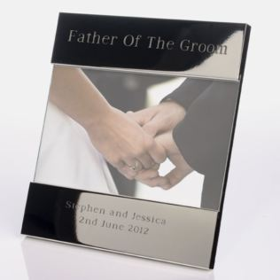 Engraved Father Of The Groom Photo Frame Product Image