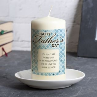 Personalised Father's Day Candle Product Image