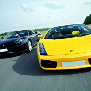 Ferrari and Lamborghini Driving Blast Product Image