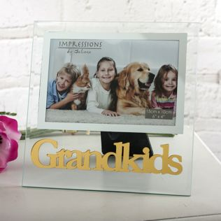 Grandkids Glass Photo Frame Product Image