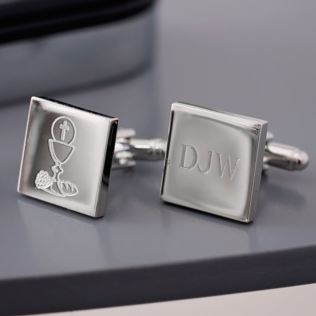 Personalised First Holy Communion Cufflinks Product Image