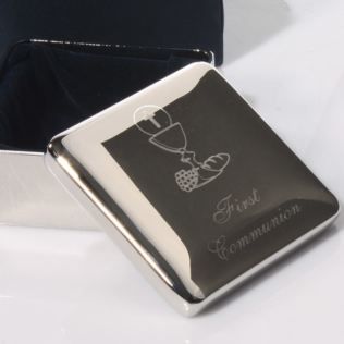 Engraved First Communion Treasure Box Product Image