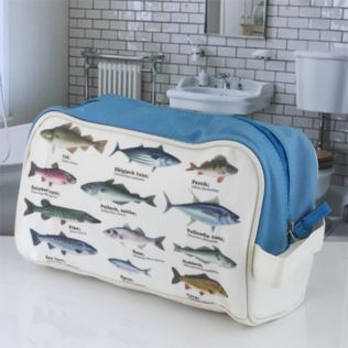 Fish Design Wash Bag Product Image