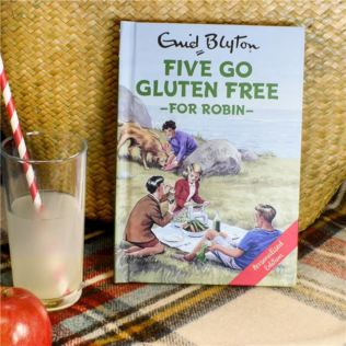Personalised Enid Blyton Book - Five Go Gluten Free Product Image