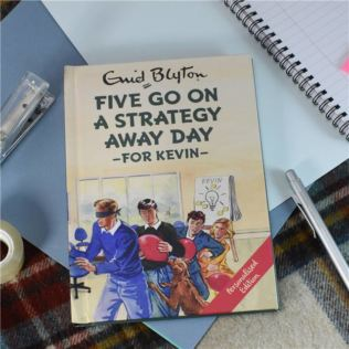 Personalised Enid Blyton Book - Five go on a Strategy Away Day Product Image