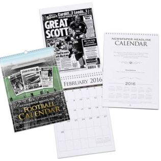 Personalised Football Calendar - Cardiff City Product Image