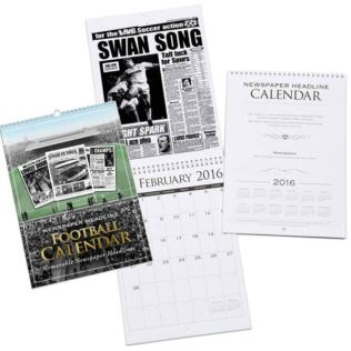 Personalised Football Calendar - Swansea City Product Image