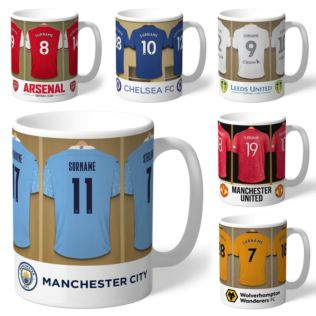Personalised Football Dressing Room Mug Product Image