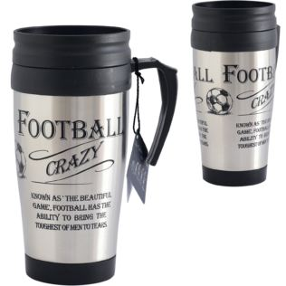 Football Fan Thermos Travel Mug Product Image