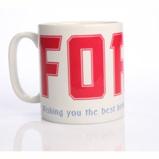 Personalised Forty Mug Product Image