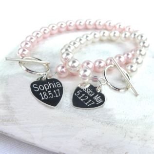 50th Birthday Personalised Harmony Bracelet Product Image