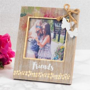 Vintage Boutique Friends Photo Frame 4 x 4 Product Image