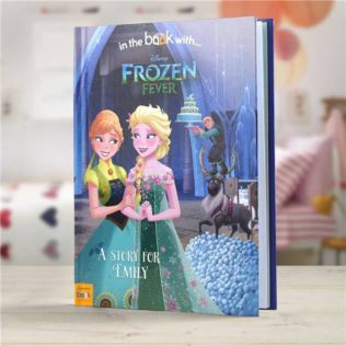 Disney Frozen Fever - Personalised Storybook Hard Cover Product Image